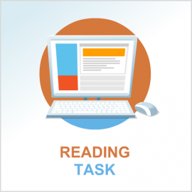 Test 1 English reading task