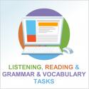 Test 3 English reading, listening and grammar & vocabulary tasks