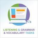 Test 2 English listening and grammar & vocabulary tasks
