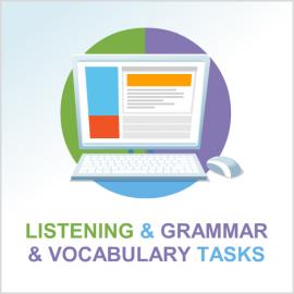Grammar and vocabulary module